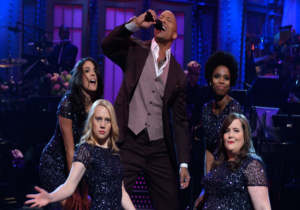 The Rock-Dwayne Johnson's hosted SNL