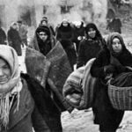 World War II-During the Siege of Leningrad more Russians lost their lives in world war II