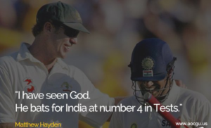 quote by matthew for sachin