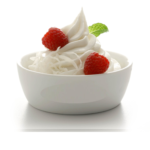 natural yogurt , nutritious food to eat