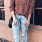 sweater, jeans and boots