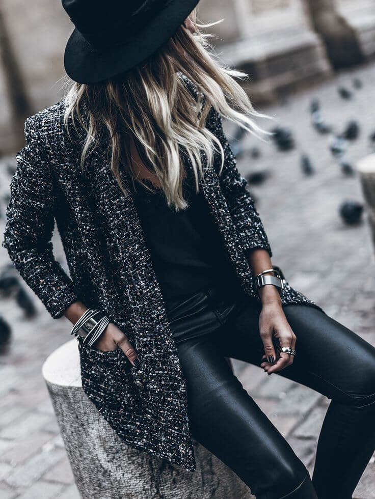 black winter fashion : aocgu